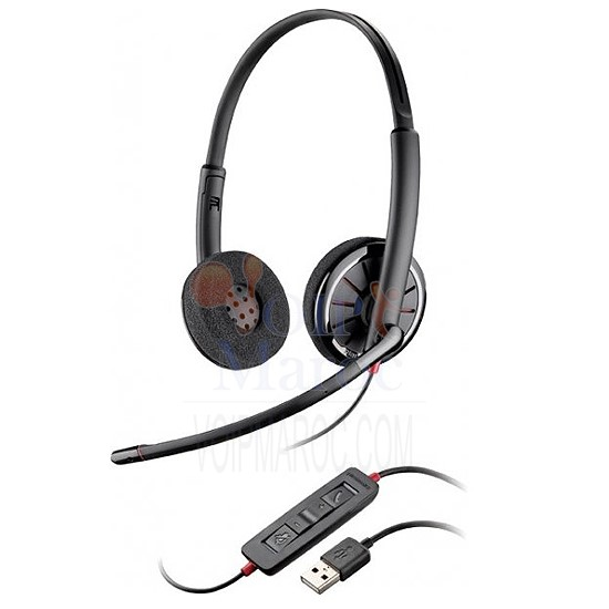 MICRO-CASQUE USB BINAURAL MICRO ANTIBRUIT 85619-02