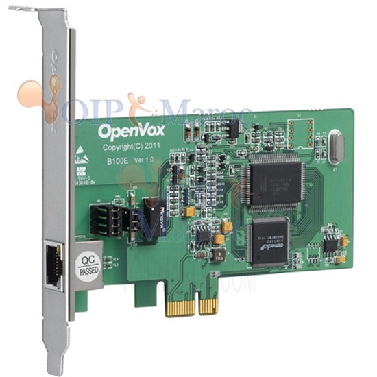 Carte ISDN BRI 1 Port PCI B100E