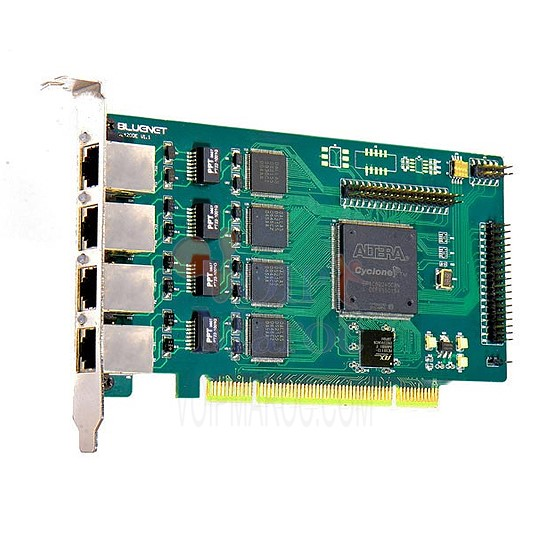 Carte Digital PCI avec 4 Ports E1 (BRI) BL420D