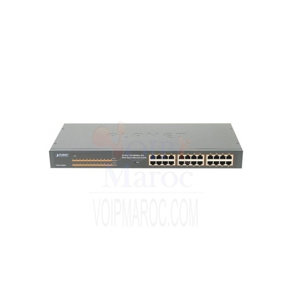 LAN SWITCH 24-PORT 10/100 POE FNSW-2400PS