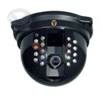 "Dome Camera 1/3"" CCD Lens mount of 3.6mm with 420TVL"