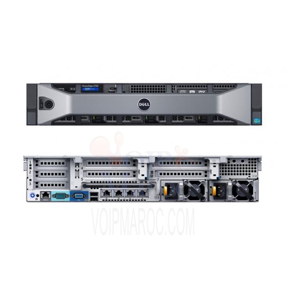 Serveur Dell Rack PowerEdge R730 E5-2620 v4 2.1GHz 3x 300GB, 16 GB RAM PER730-E5-2620-V4A