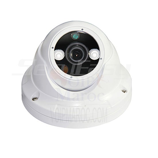 "Camera mini dome blanche IR digital Color 1/3"" HD digital sensor,800 TV SE-CA352P"