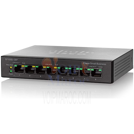 SG110D-08HP 8-Port PoE Gigabit Desktop Switch SG110D-08HP-UK