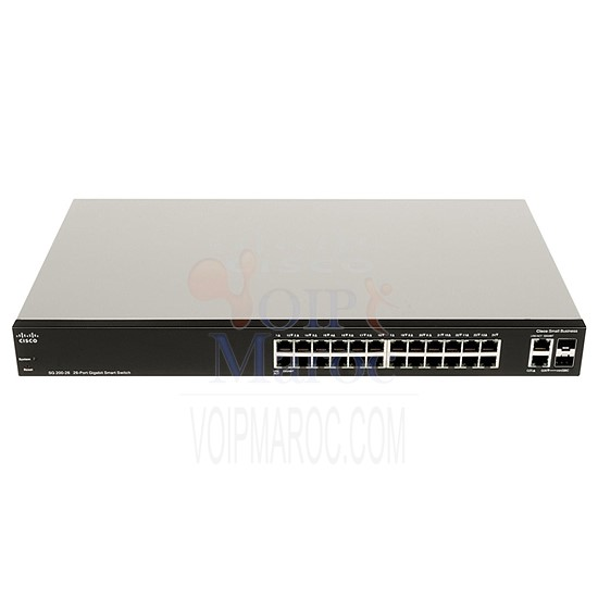 Switch Gigabit manageable 24 ports + 2 ports combo SFP SLM2024T-EU