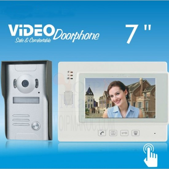Video Doorphone ZDL-37M  1 CAMERA + 1 MONTEUR VDP05