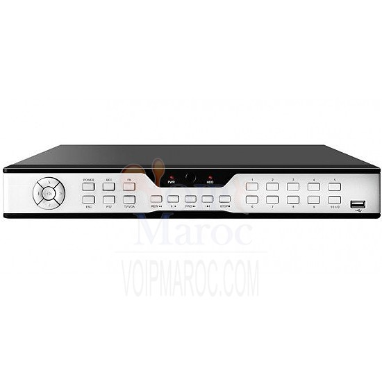 DVR 16CH Video Compression H.264 VT-DVRDC9116