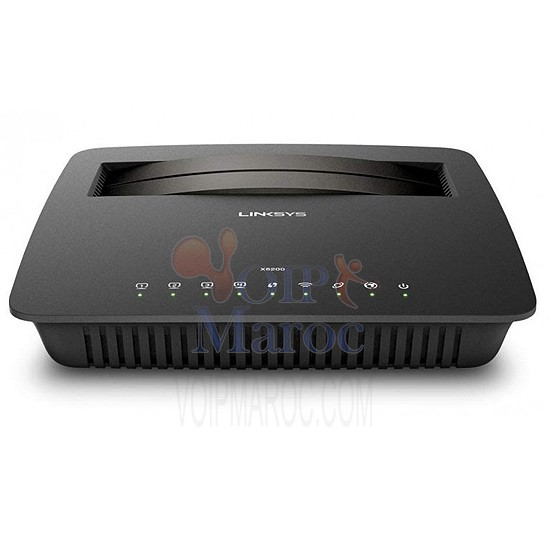 Linksys X6200 Wireless-AC750 Dual Band Gigabit Modem Router X6200-EU