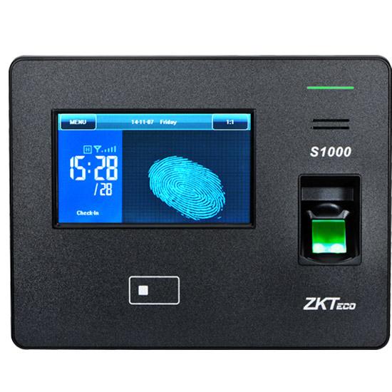 pointeuse biom trique avec ecran tactile 4 3 pouces. Black Bedroom Furniture Sets. Home Design Ideas